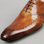 Chaussures Richelieu à surpiqûres – ligne Castelo – Havane réf. 3001