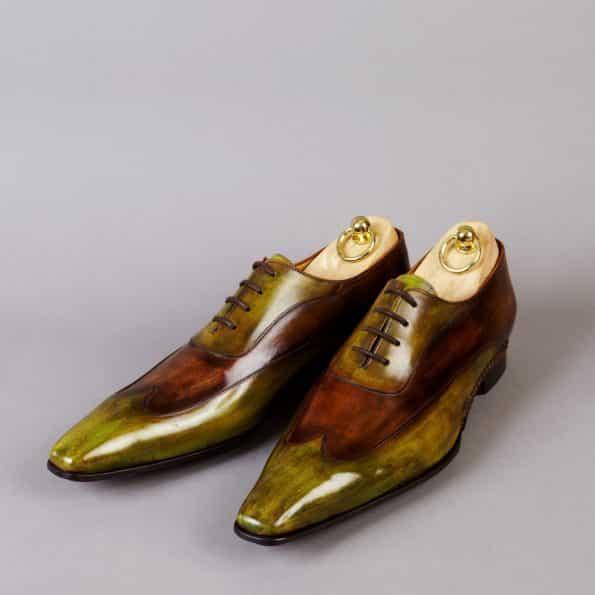 Chaussures Épiscopal patine bicolore – ligne Castelo – réf. 3012