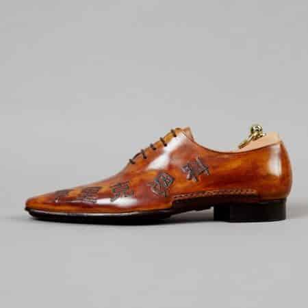 Chaussures Macao patine Havane – ligne Castelo – réf. 3015