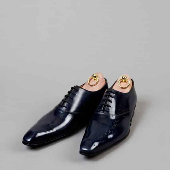 Chaussures Richelieu Torsado patine Bleu Nuit – ligne Castelo – réf. 3002
