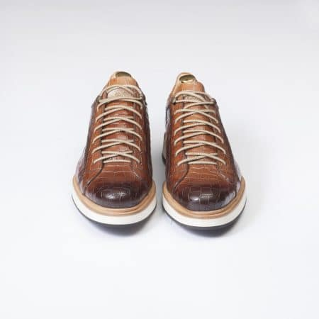 Chaussures Sneakers Panamera – ligne Prestige – Whisky – réf 4127
