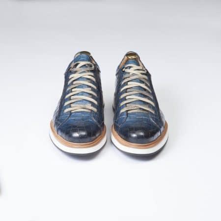 Chaussures Sneakers Panamera – ligne Prestige – Bleu Océano – réf 4127