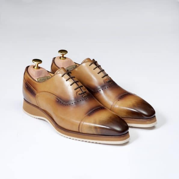 Chaussures Sneakers Venice – ligne Florence – Havane – réf 1726