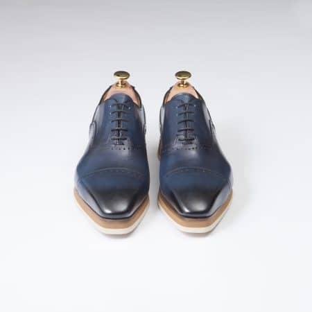 Chaussures Sneakers Venice – ligne Florence – Bleu Océano – réf 1726
