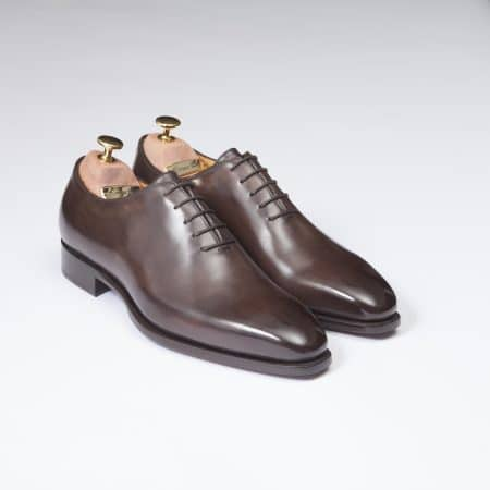 Chaussures One Cut Napoli – ligne Florence – Marron Séquoia – réf 40255