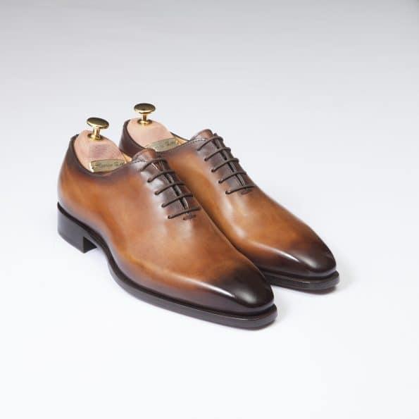 Chaussures One Cut Napoli – ligne Florence – Caramel – réf 40255
