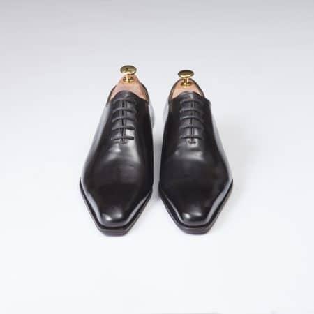 Chaussures Richelieu One Cut 5 Oeillets – ligne Dandy – Noir réf. 13283