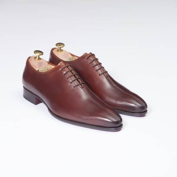 Chaussures Richelieu Liseré – ligne Dandy – Marron Cognac réf. 11123