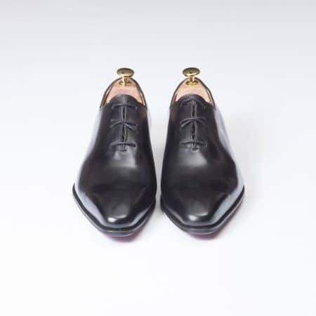 Chaussures One Cut laçage croisé – ligne Dandy – Noir réf. 11122