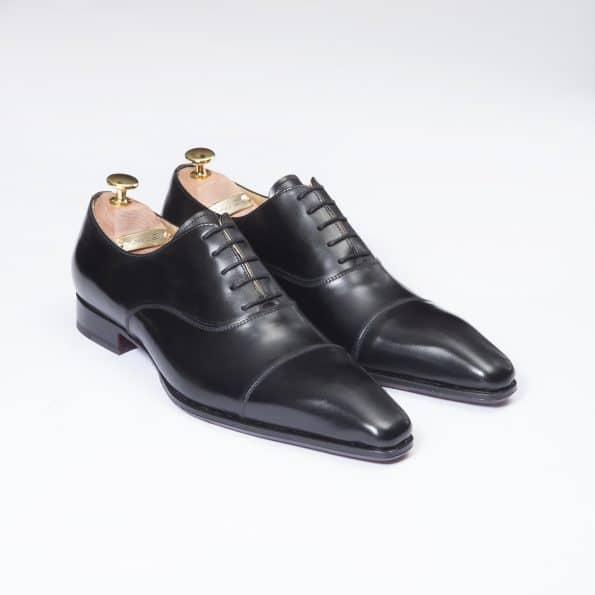 Chaussures Richelieu Diplomate – ligne Dandy – Noir réf. 11067