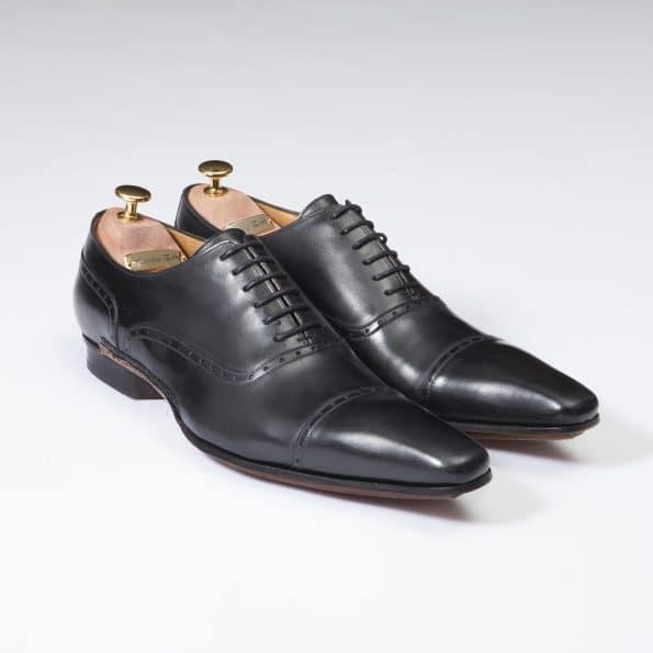 Chaussures Richelieu Balmoral – ligne Castelo – Noir réf. 3027