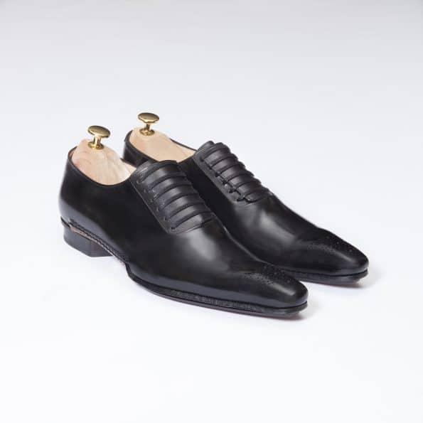 Chaussures Richelieu Laçage Officier – ligne Castelo – Noir réf. 3022