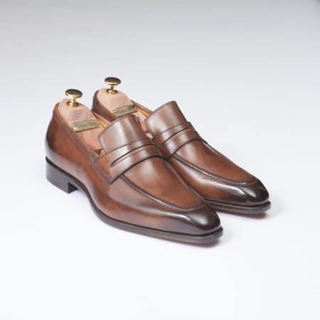 Chaussures Mocassin Monte Carlo – ligne Florence – Havane – réf 29204