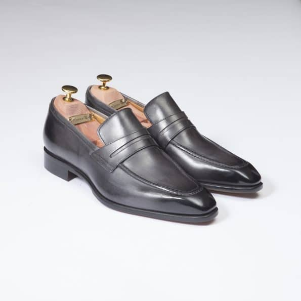 Chaussures Mocassin Monte Carlo – ligne Florence – Anthracite – réf 29204