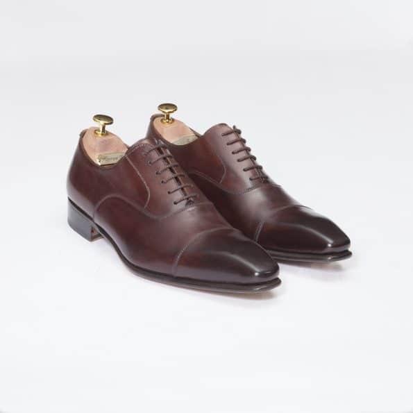 Chaussures Richelieu Diplomate – ligne Prestige – Marron réf. 9071