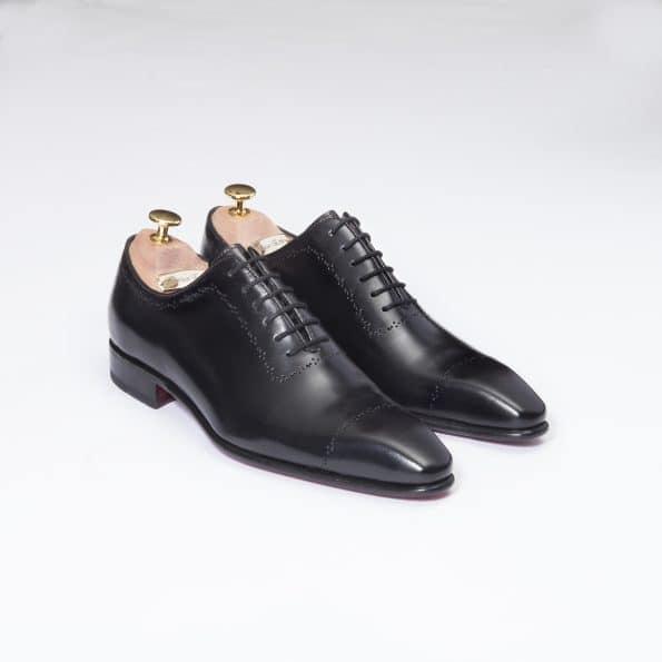 Chaussures One cut Perforato – ligne Prestige – Noir réf. 2000