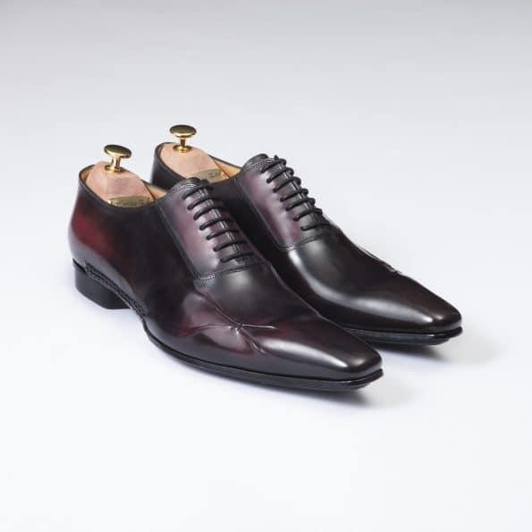Chaussures Murcielago patine Noir/Burlat – ligne Castelo -réf. 3021