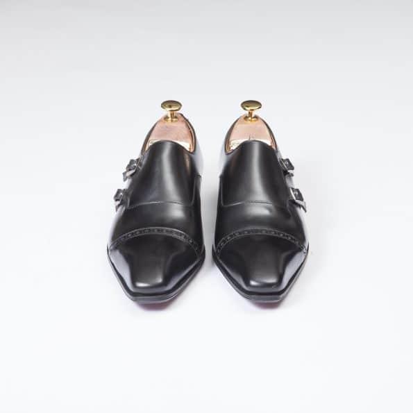 11088 double boucles ligne Dandy noir