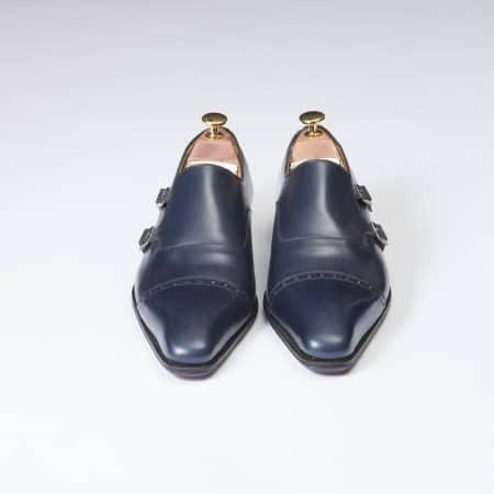 Boucles Double Boucle – ligne Dandy – Marine réf. 11088