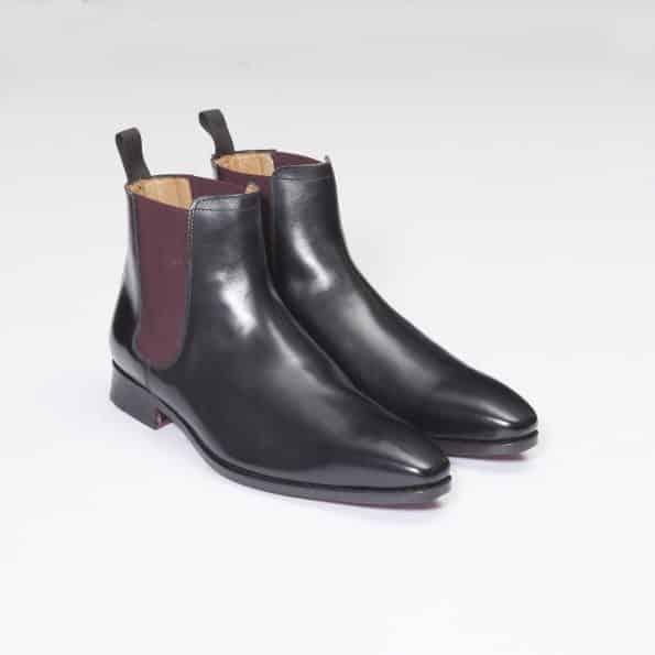 Bottines Chelsea Boots – ligne Dandy – Noir réf. 11044