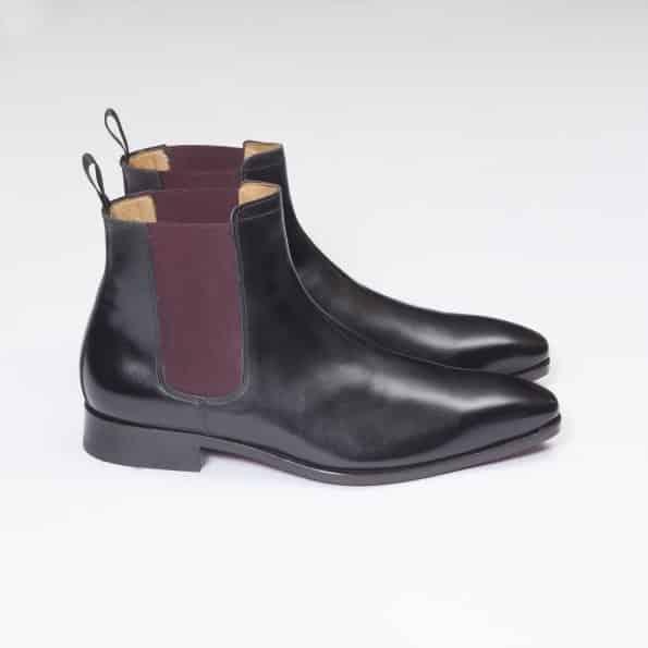 11044 Chelsea Boots ligne Dandy marron cognac